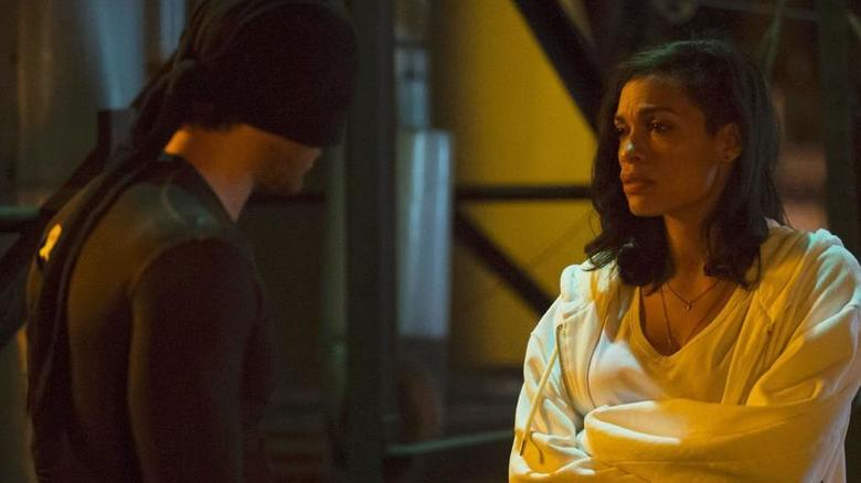 Claire Temple meets the man in the mask...