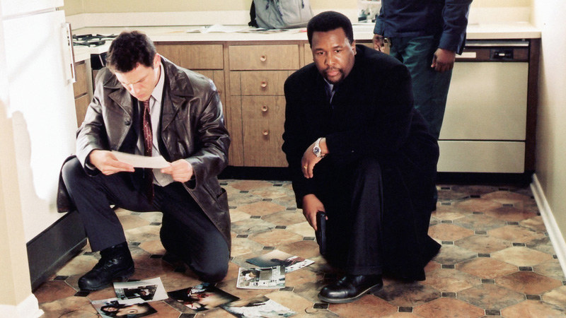 The Wire's Bunk Moreland and Jimmy McNulty