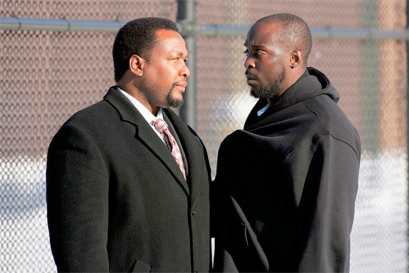 The Wire's Bunk Moreland and Omar Little