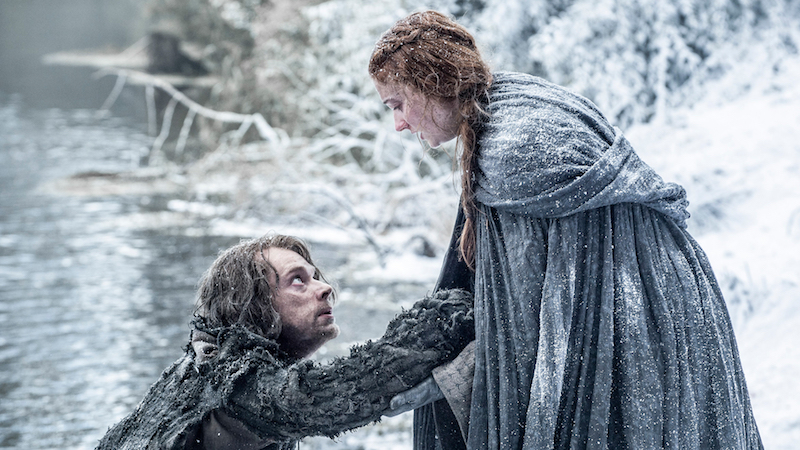 game of thrones - the red woman