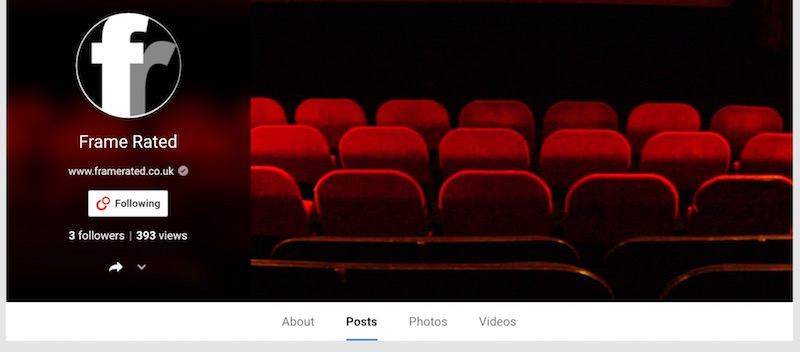 frame rated - google+