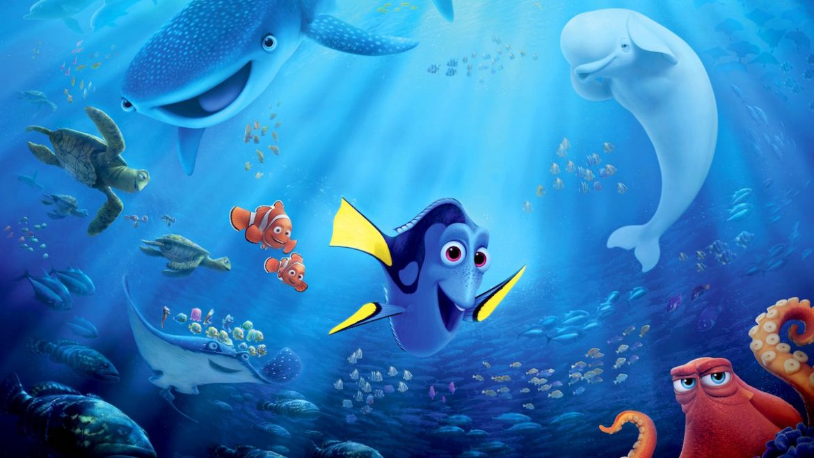 Finding dory 2016 frame rated for Immagini dory