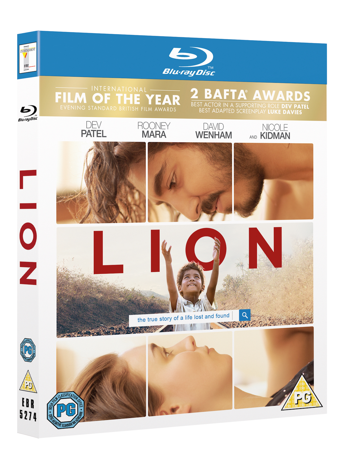 Competition: Win LION on Blu-ray!