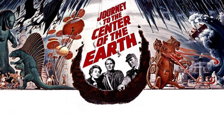 Journey to the center of the earth 1959 dimetrodon