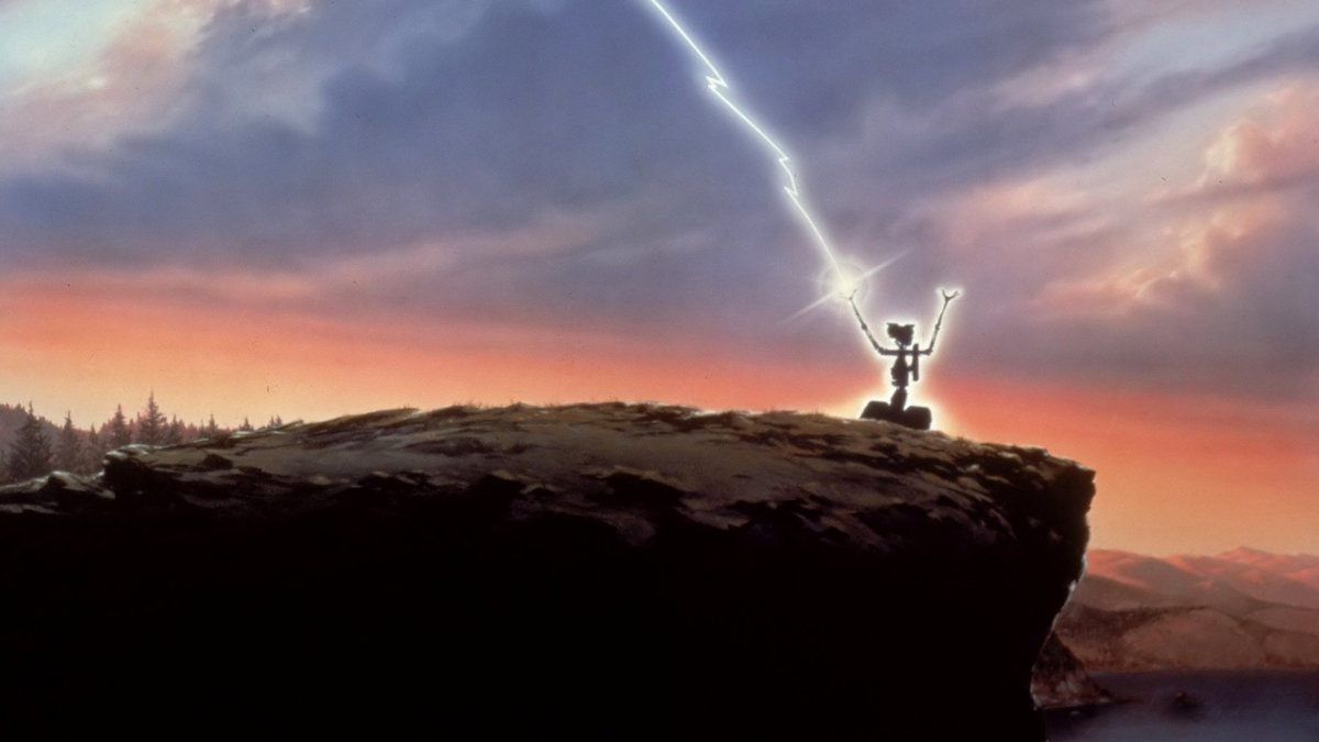Short Circuit 1986 Frame Rated Number 5 Is Alive Johnny From The Movie