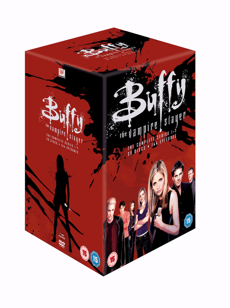 Competition: Win BUFFY THE VAMPIRE SLAYER's Complete Series 20th Anniversary on DVD!