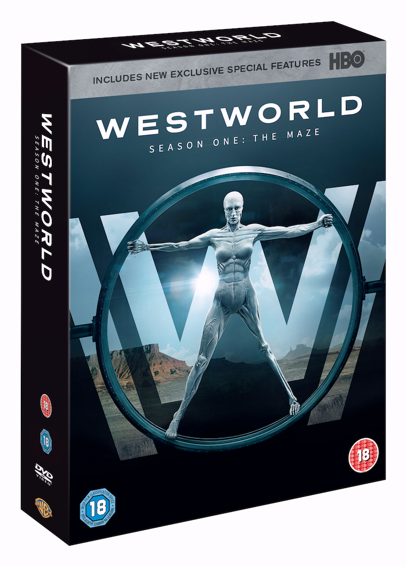 westworld: season 1 DVD