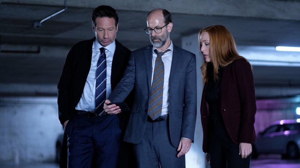 the x-files - the lost art of forehead sweat