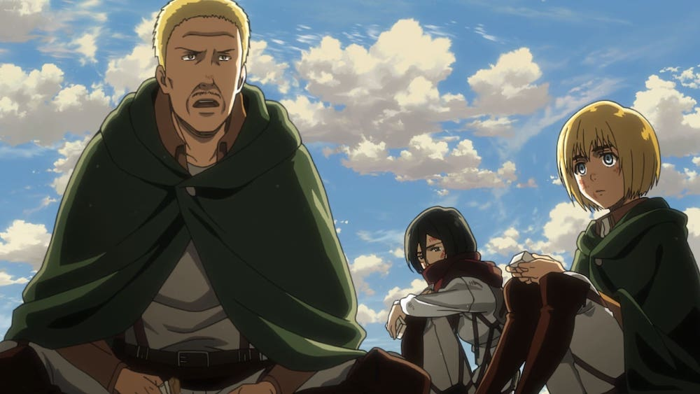 attack on titan - season 2