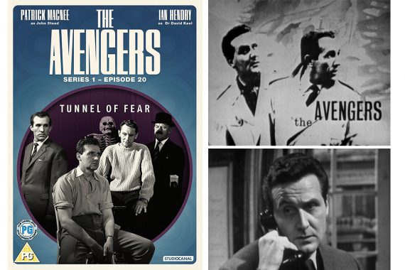 the avengers - tunnel of fear