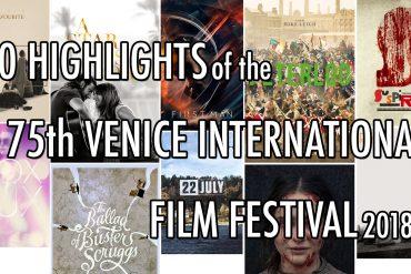 venice film festival 2018