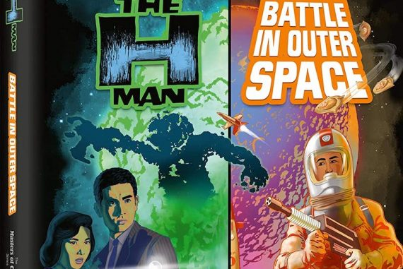 h-man (1958) / battle in outer space (1959)